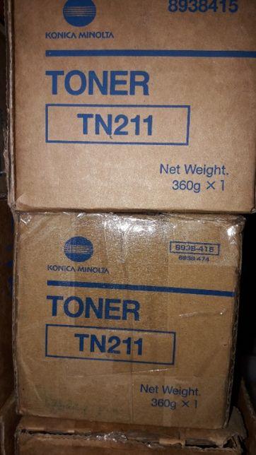 TN211 toner оригинал Bizhub 200 222 250 282 350