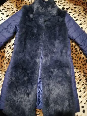 Куртка з натуральним хутром