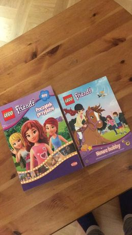 2 książki Lego Friends