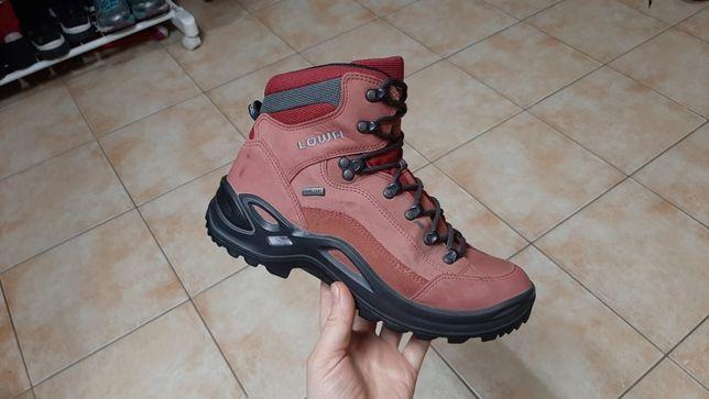 39р,25см,Трекинговые кожаные сапоги,ботинки,кроссовки Lowa (Лова)