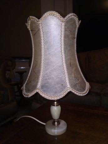Lampka z onyksu stara lampa
