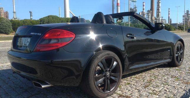 Mercedes SLK Cabrio.