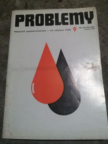 8x Problemy - naukowy miesięcznik popularny - zestaw
