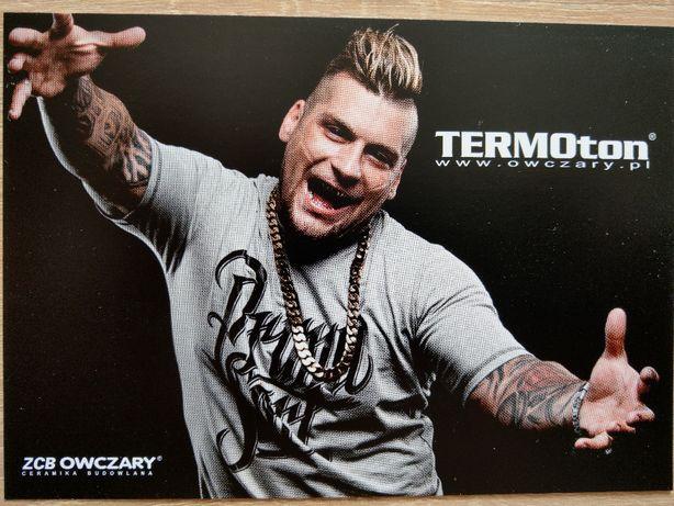 Oryginalny autograf Polskiego rapera POPEK (Gang Albania) zawodnik MMA