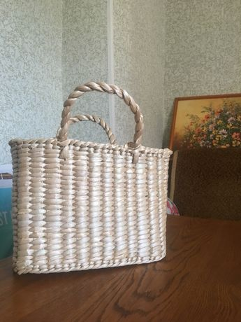 Соломенные сумки Hand Made
