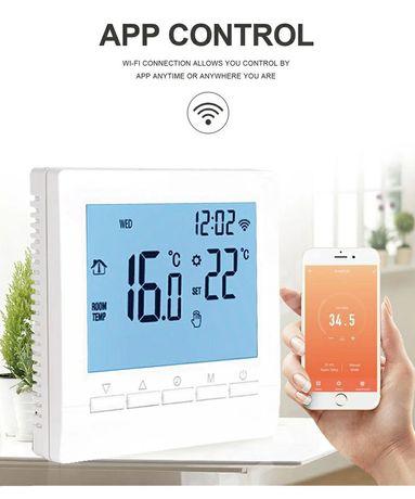 Termostat wifi 16a 16 a ogrzewanie elektryczne maty grzejne regulator