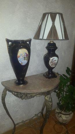 ваза для цветов настольный светильник
