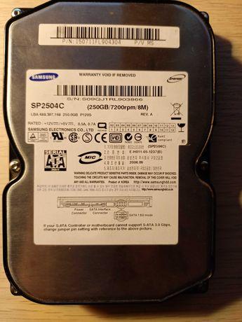 Dysk HDD Samsung 250GB 7200rpm
