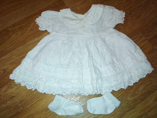 Платье 3-6 месяцев. 300руб. Донецк Макеевка