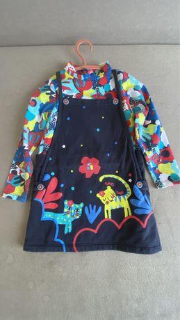 Платье  TUC TUC на девочку, комплект платье + курточка tuc tuc