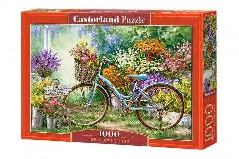 Пазл Castorland Puzzle 1000 деталей Квітковий ринок