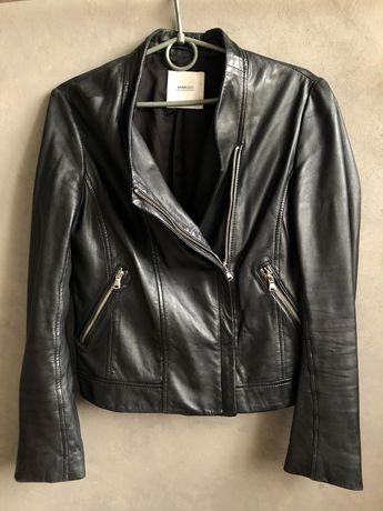 Шкіряна куртка-косуха Mango, розмір S
