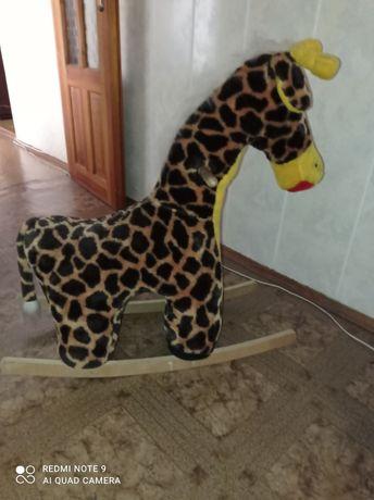 Продам жираф качалка