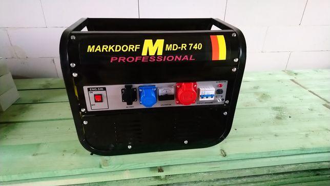 Agregat prądotwórczy na działkę i budowe OKAZJA!!! Markdorf M MD-R 740