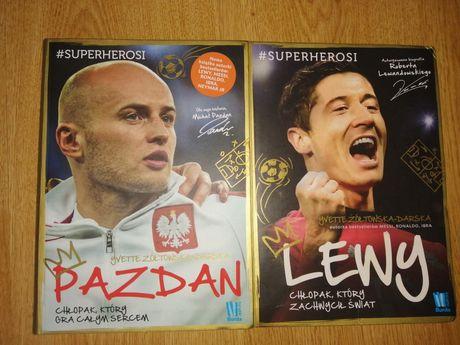 Książki Lewandowski i Pazdan