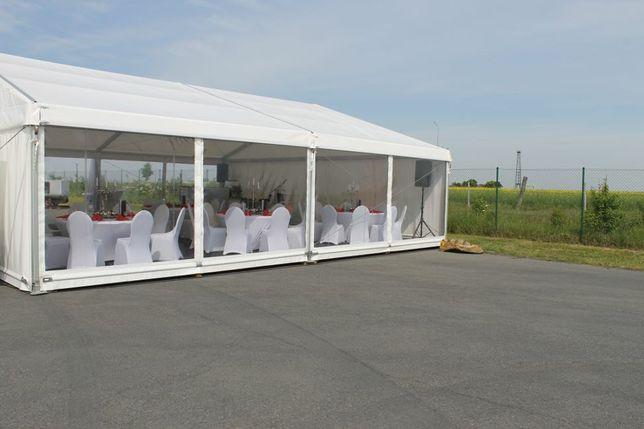 Hala namiotowa 10x10 10x15 10x20 stoły krzesła ogrzewanie