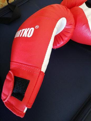 боксерские перчатки sportko кож винил 10-12 унций