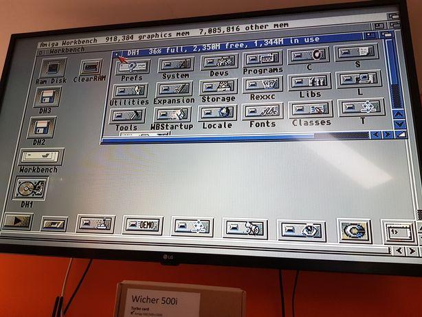 Karta Turbo Wicher 500i + 8MB RAM + 40GB HDD + ROM 3.1 do Amiga 500