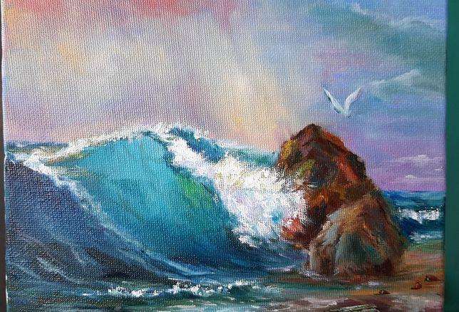 Картина маслом, Море