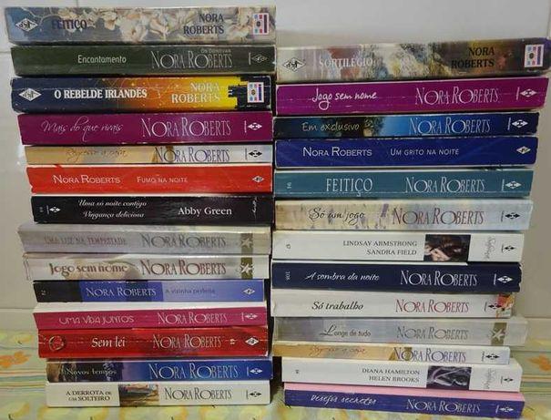 Livros vários de bolso de Nora Roberts- portes grátis