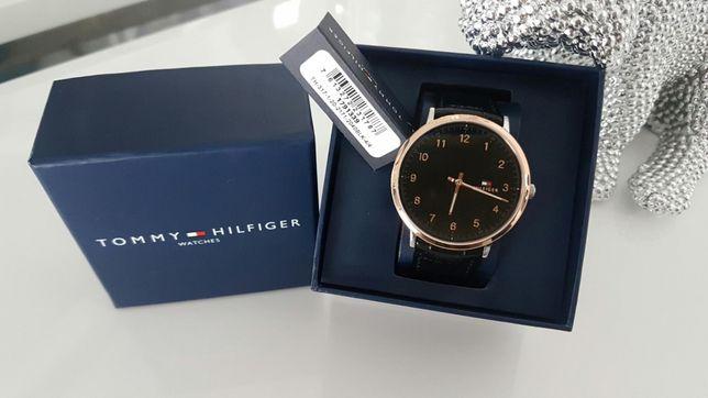 Kurier Zegarek meski Oryginalny Tommy Hilfiger klasyczny prezent
