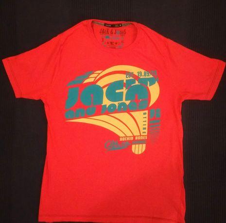 Jack & Jones, t-shirt męski, rozm M