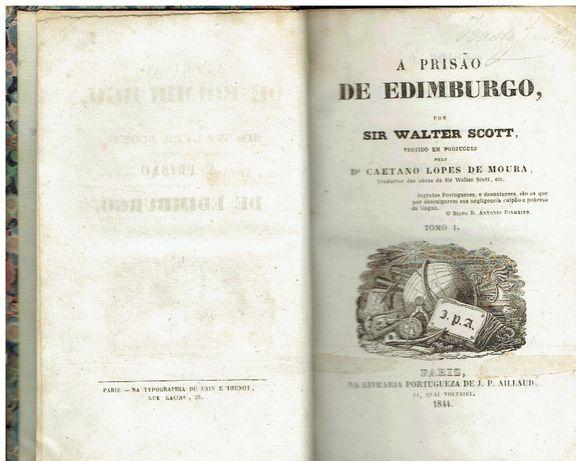11008 A prisão de Edimburgo (2 vols) por Walter Scott ; 1844