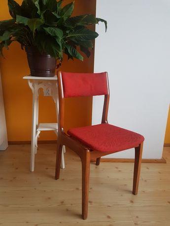 Krzesło PRL vintage drewno do renowacji 3szt.