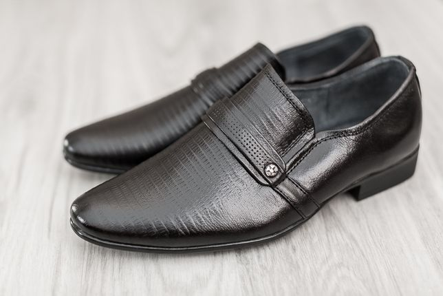 Туфли школьные на мальчика кожа р.36-38, деми осень,мокасины черные