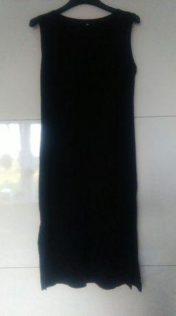 Czarna prosta sukienka M