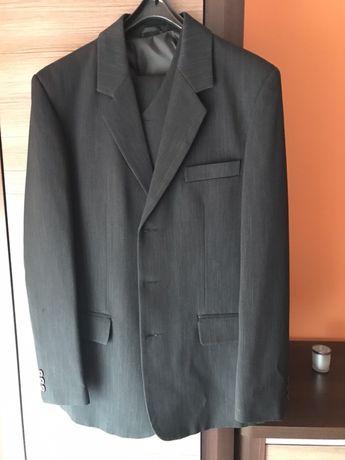 Garnitur czarny(rozm. 48/wzrost 182 cm)