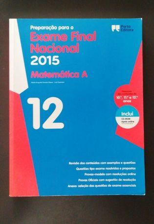Preparação exame Matemática A, 2015 [12°ano]