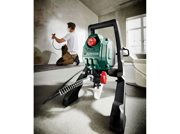 Agregat PARKSIDE System natryskowy Airless PAFS 550 A1, 550 W