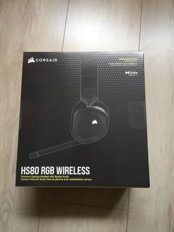 Słuchawki Corsair HS80 RGB Wireless - OKAZJA!