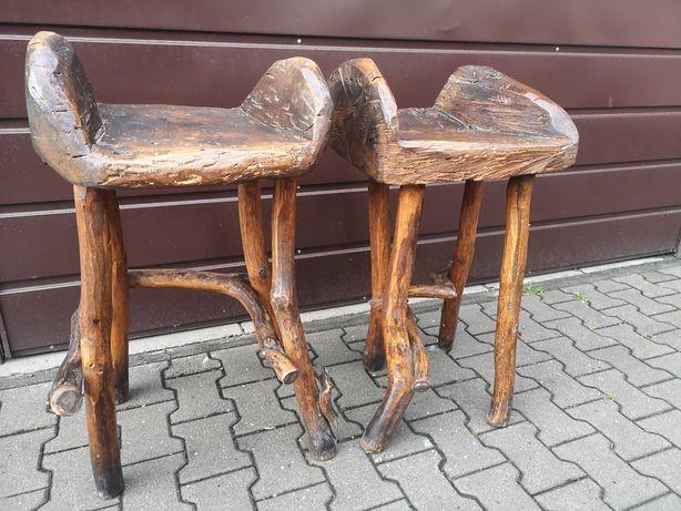 Hoker/Hokery drewniane /Unikat
