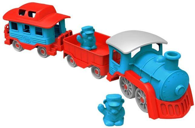 Эко игрушка от Green Toys. Train - Blue