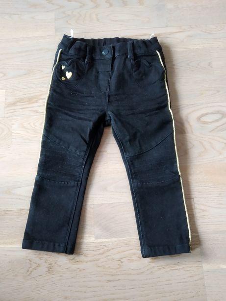 Spodnie, jeansy, r.86, C&A, Nowe