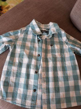 Sprzedam koszulę w kratę   firmy extenso roz.92