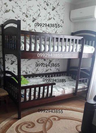 Двухъярусная кровать Карина по супер ценам с матрасами и ящиками