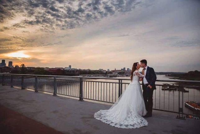 Suknia ślubna David Tuter