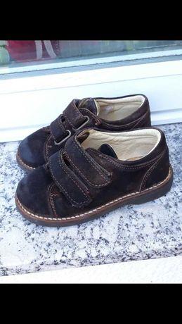 Sapato de pele castanho tamanho 24 Zippi.