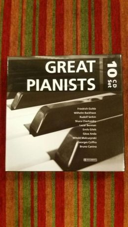 Grandes Pianistas (Great Pianists 10 cd box)