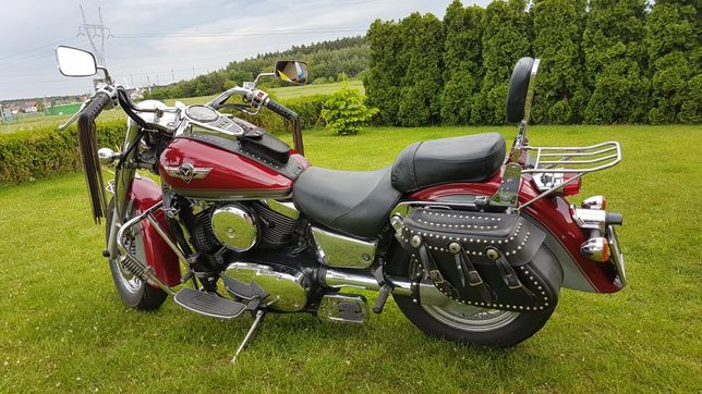 Kawasaki vn 1500 Vulcan 15 lat w moich rękach