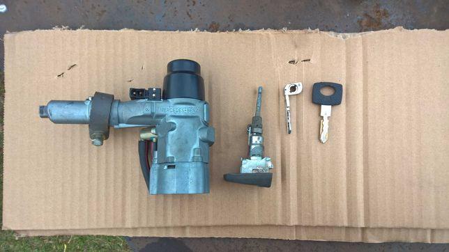 Stacyjka wkładka drzwi kluczyk x2 Mercedes W124