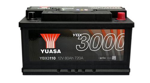Akumulator YUASA YBX3110 80Ah 720A Promocja!!!