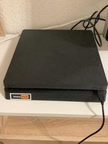 Продам PS 4 Slim 800 гб, с аккаунтом и дисками