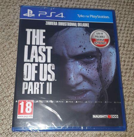 NOWA Gra The Last Of Us Part II w PL na Ps4 we folii polska dystrybucj