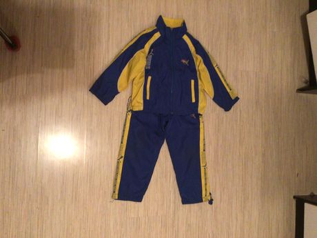 Спортивный костюм Puma для мальчика рост 110-116 школьная одежда