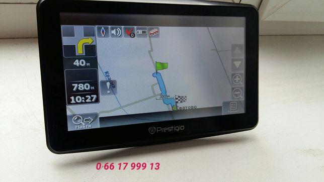 GPS navigator. Prestigio 7900(встроенный тв.fm.bt. бесплатные navitel