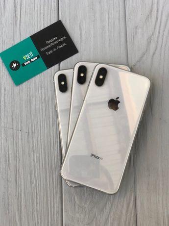 iPhone Х (10) 64 гб / 256gb Silver\ Айфон 256гб Сильвер с гарантией Х